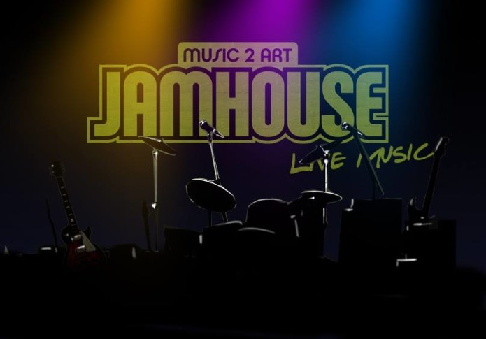 Tomaso im Music 2 art- Jamhouse