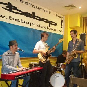 Tomaso& Band live im Bebop