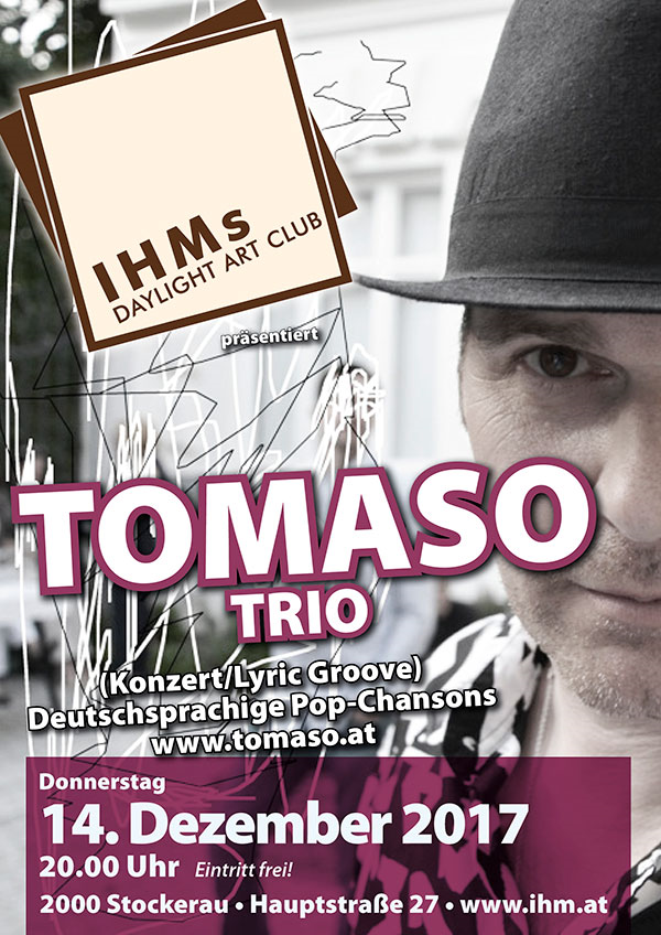 Tomaso LIVE! im Daylight Art Club